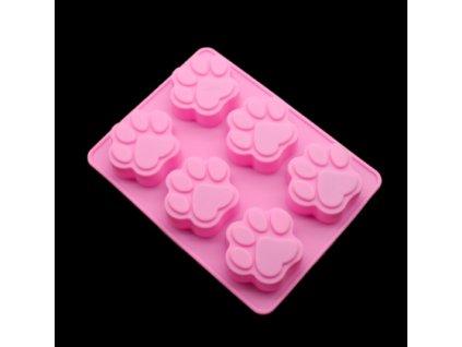 psie labky silikonova forma na vyrobu mydla mydli