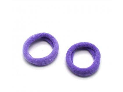 gumicky do vlasov fialove