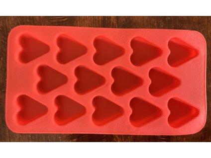 Srdcia silikónová forma