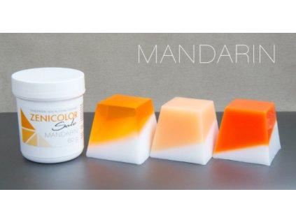 zenicolor mandarin oranžová farba do mydla