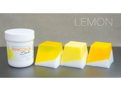 zenicolor žltá farba do mydla