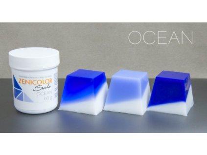 zenicolor modra farba do mydla