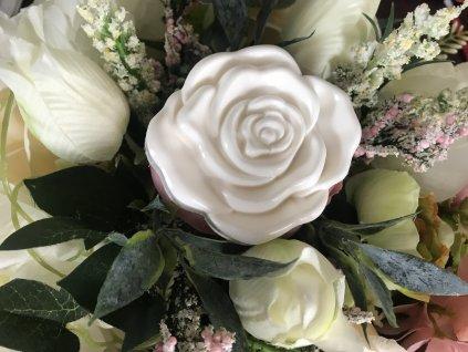 Rozkvitnutá ruža 2 veľkosti