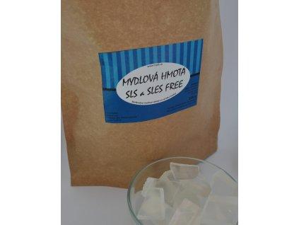 Mydlová hmota SLES & SLS Free Crystal