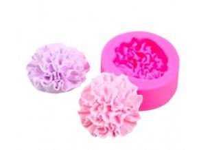 pivonka 3D silikonova forma mydlove kytice