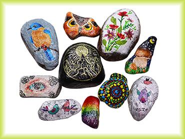 Jak na putovní malované kamínky