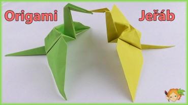 Jak složit origami jeřába