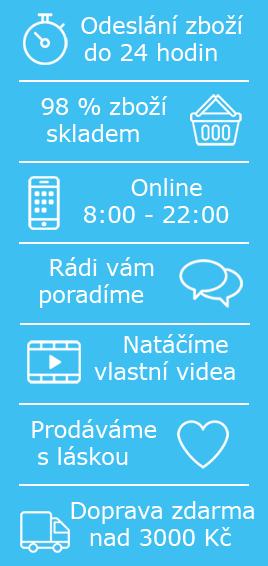 Výhody nákupu v eshopu Mydlifík.cz