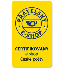Jsme přátelský e-shop České pošty