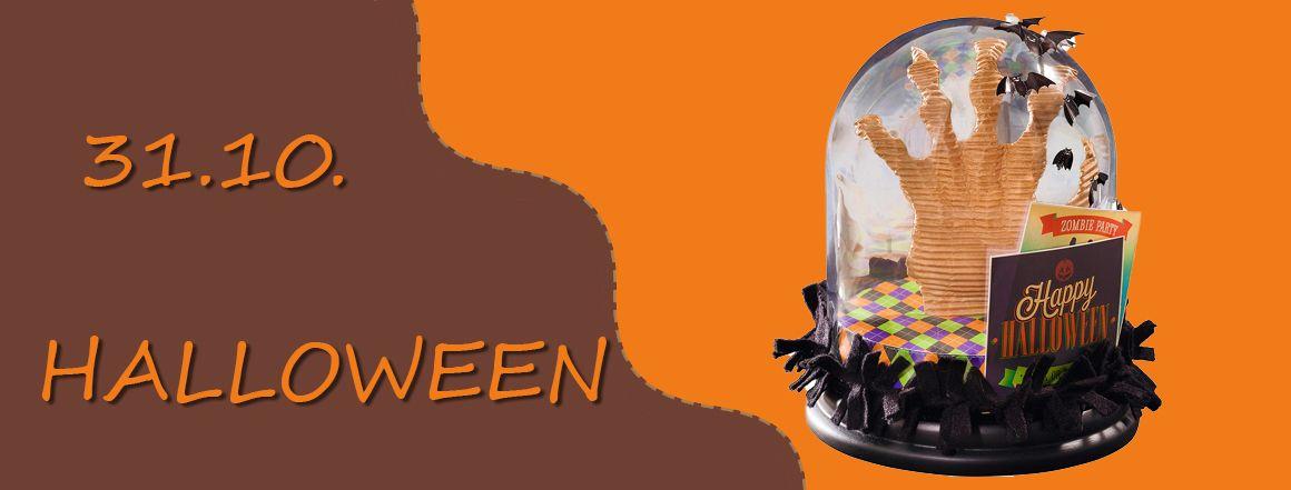 Materiál pro halloweenské tvoření
