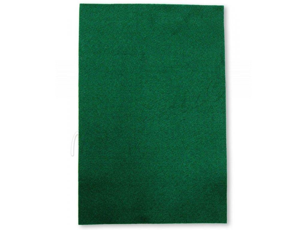 3a2f9e85d Dekorační filc/plst Folia - 20 x 30 cm - 1 list - lesní zelená ...
