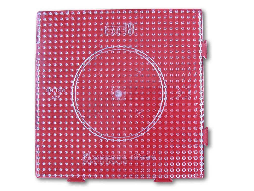 Podložka HAMA pro zažehlovací korálky MIDI - velký čtverec napojovací