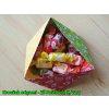 Origami papír Basics 80 g/m2 - 15 x 15 cm, 50 archů - červený