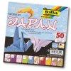 Origami papír Japan 80 g/m2 - 15 x 15 cm, 50 archů