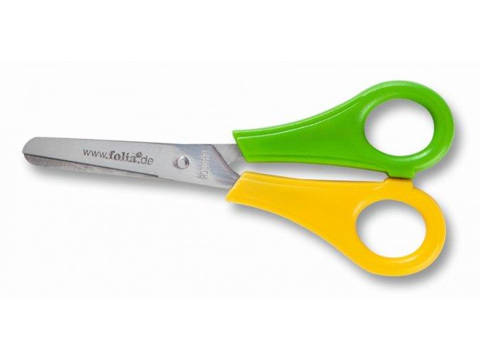 Nůžky dětské kulaté pro leváky
