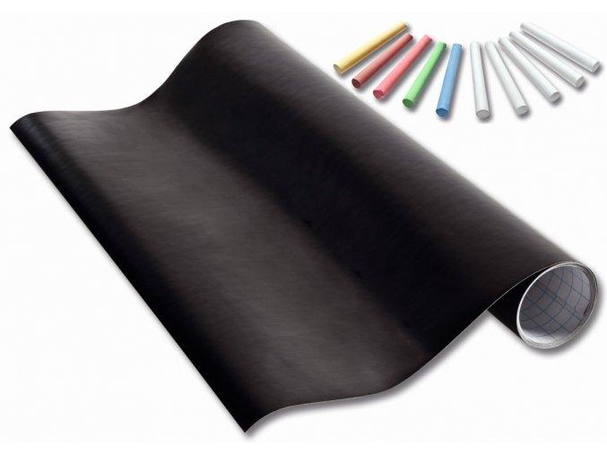 Folia 390090 - Samolepící tabulová fólie+ 10 kříd