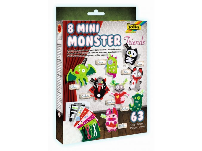 Folia 50106 - Sada na výrobu Monster příšerek