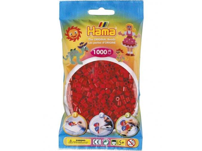 zažehlovací HAMA korálky H207-22, tmavě červené