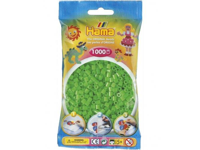 zažehlovací HAMA korálky H207-42, neonové zelené