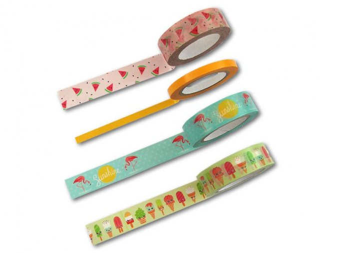 Folia 26421 - washi tape - motiv Tropical