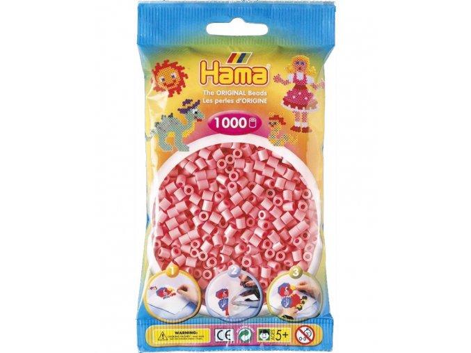 207-06 zažehlovací HAMA korálky růžové