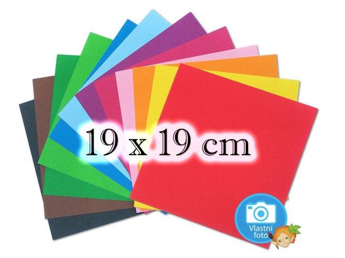 Folia 9160 Origami papír - 19 x 19 cm, 12 pastelových barev, nabízí www.mydlifik.cz
