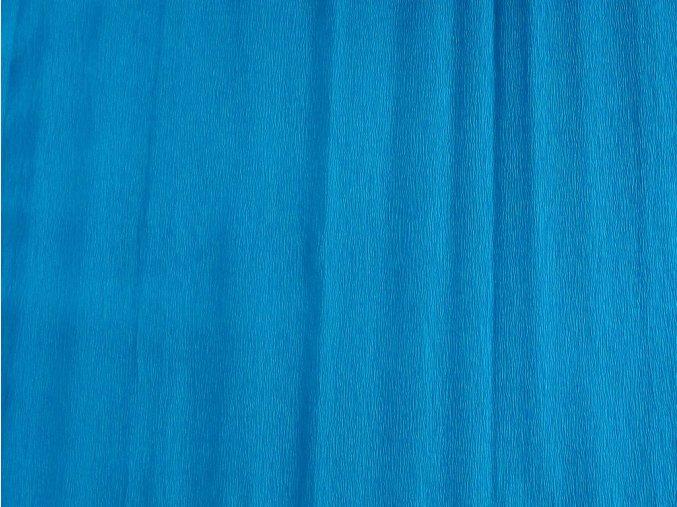 Krepový papír světle modrý 9755-14