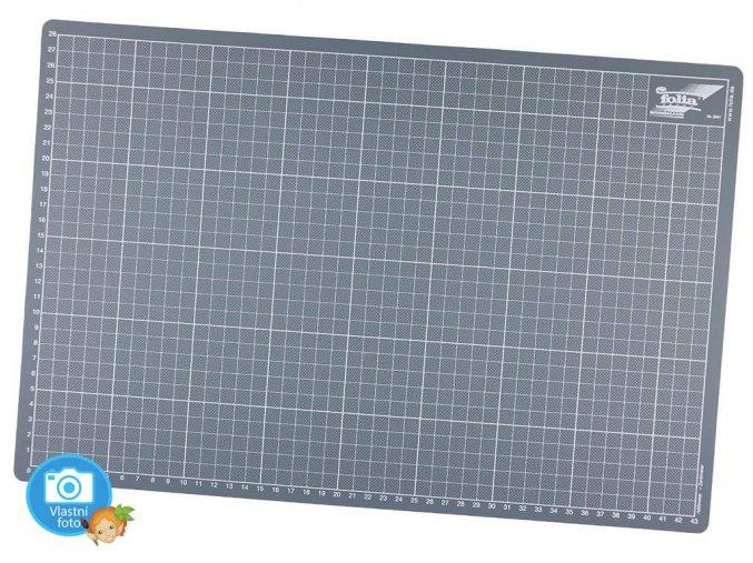 Řezací podložka šedá - 30 x 45 cm