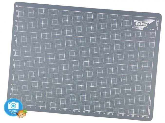 Folia 2340 | Řezací podložka šedá - 22 x 30 cm