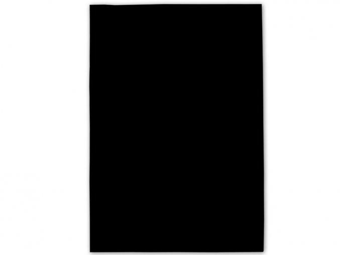 Folia 520490 Dekorační filc/plst Folia - 20 x 30 cm - černý