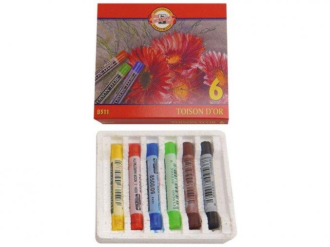 Koh-i-noor 8511 Souprava prašných školních pastelů
