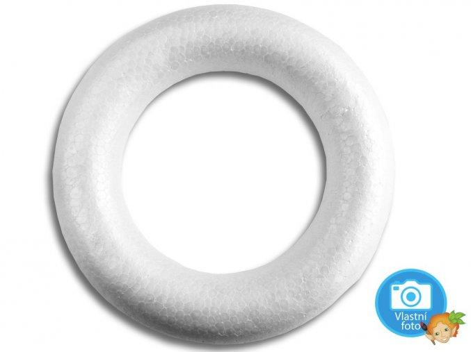 Věnec z polystyrenu - 20 cm