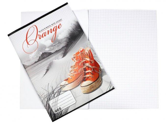 Velký sešit 465 TRAVEL Orange, Notes Slavošovce