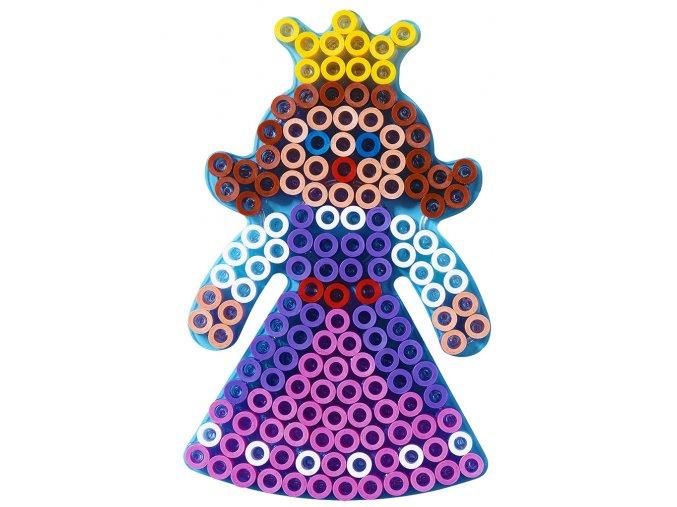 Hama 8223 - podložka pro zažehlovací korálky Maxi - PRINCEZNA