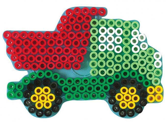Hama 8217 - podložka pro zažehlovací korálky Maxi - NÁKLADNÍ AUTO