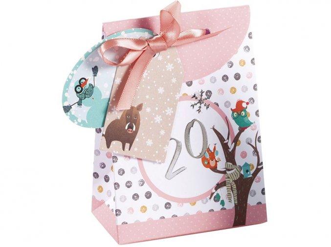 Folia 9381 - Adventní kalendář - Papírové taštičky - 26 kusů