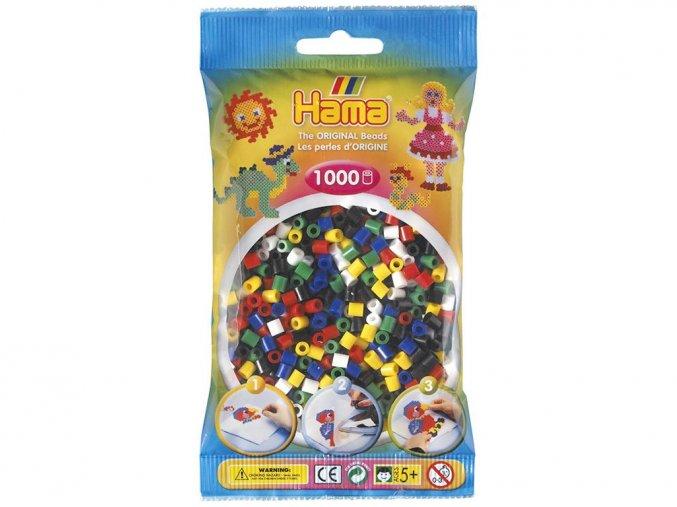 HAMA MIDI 207-66 zažehlovací korálky mix základních barev