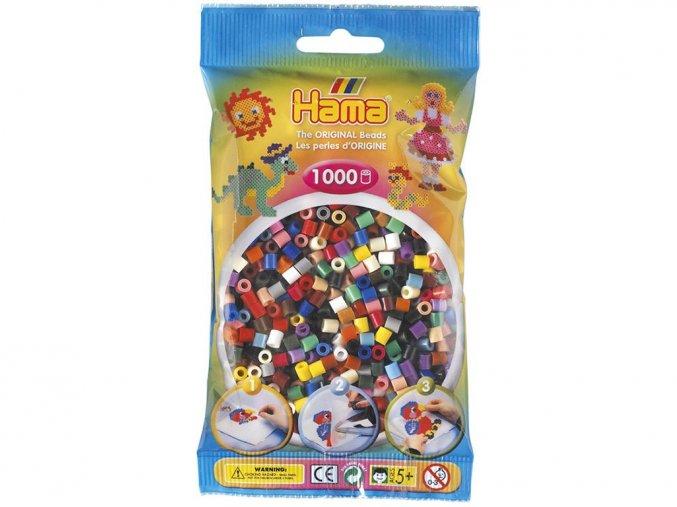 HAMA MIDI 207-67 zažehlovací korálky mix 22 barev