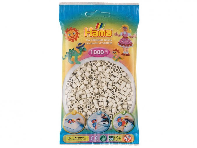 HAMA MIDI 207-77 zažehlovací korálky slonová kost