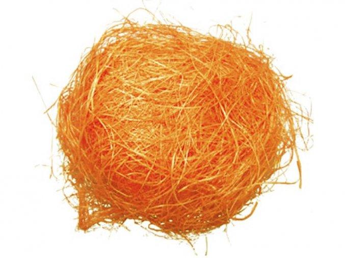 Anděl Přerov 2422 - Dekorační sisal oranžový