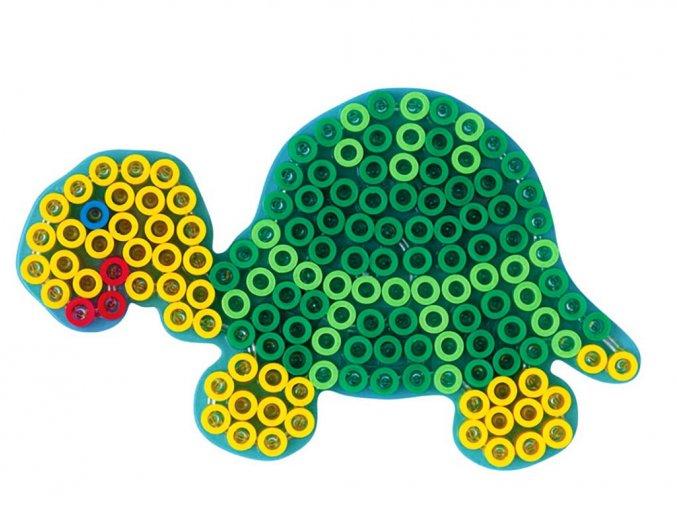 Hama 8210 - podložka pro zažehlovací korálky Maxi - želva