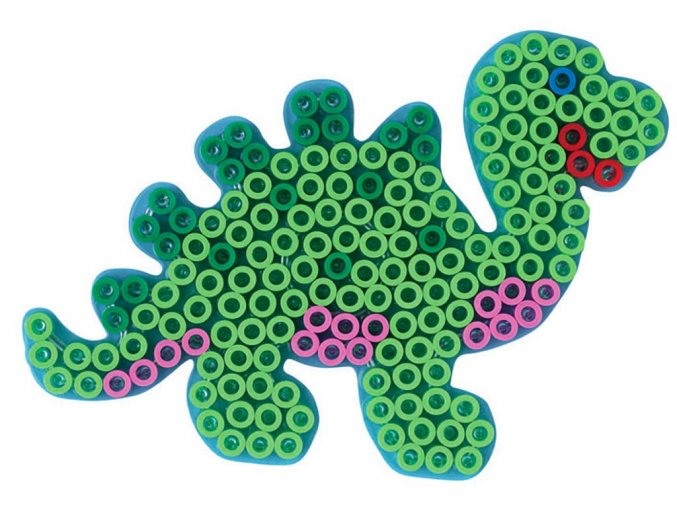 Hama 8215 - podložka pro zažehlovací korálky Maxi - dinosaurus