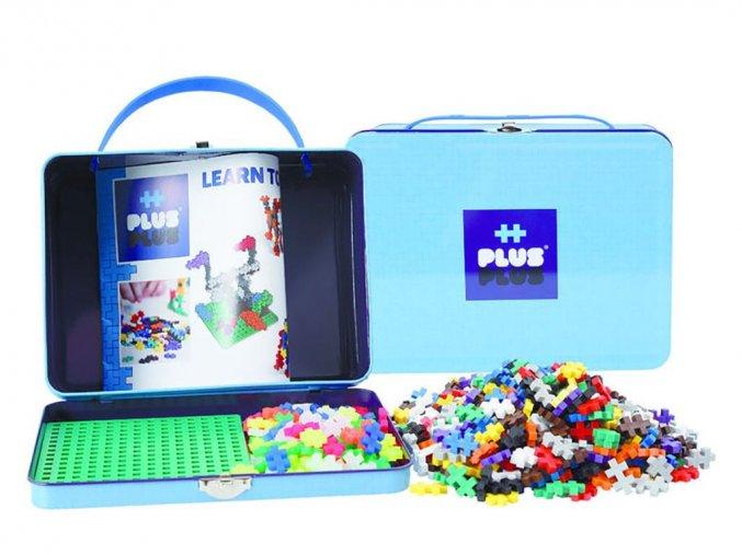 Plus-Plus 7002 - Kovový kufřík 600 ks