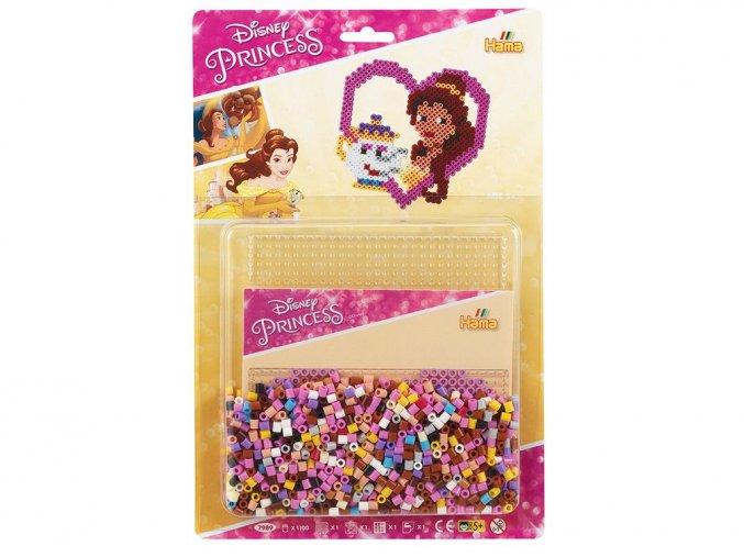 Hama 7989 - zažehlovací korálky Midi - Disney princess
