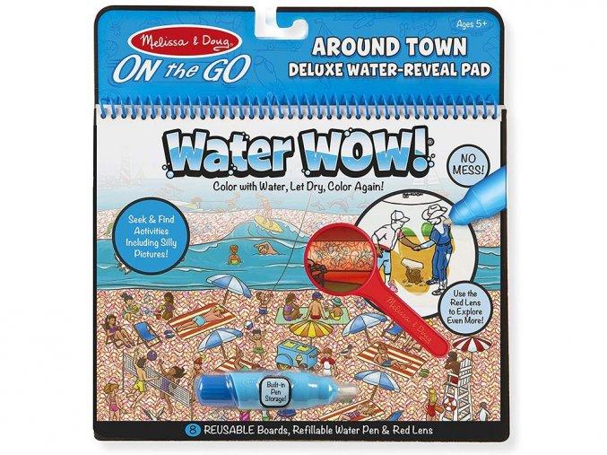 Melissa and Doug 9457 - Kouzlení vodou - Deluze Kolem města