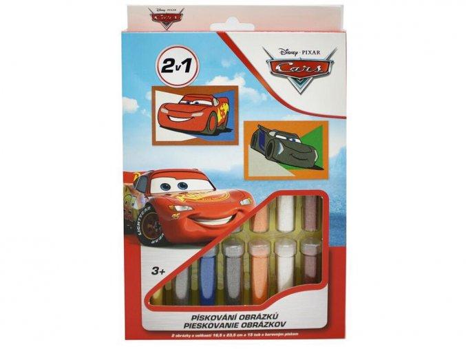 Red Castle 35100-29 - Pískování obrázků 2 v 1 - Cars