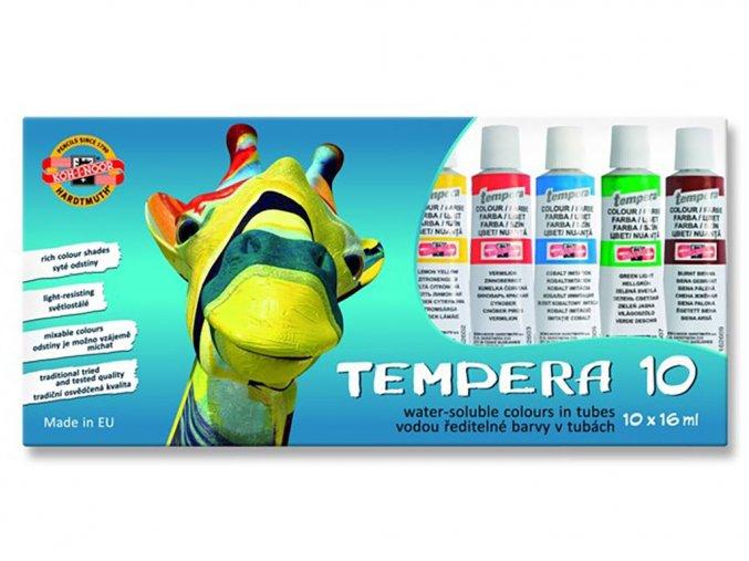 Kohinoor 1625S1001 Temperové barvy 10 ks, 16 ml