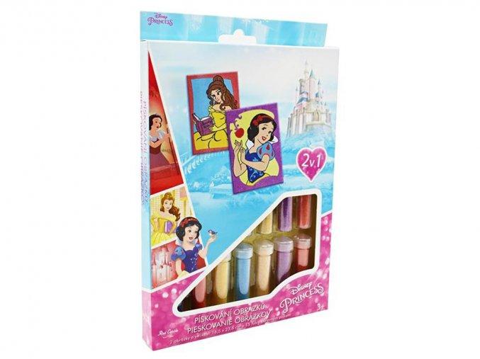 Red Castle 35100-08 - Pískování obrázků 2 v 1 - Disney Princezny