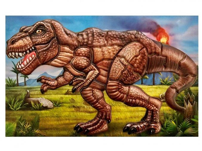 Anděl 6626 - Samolepicí skládačka T-rex 14x25 cm