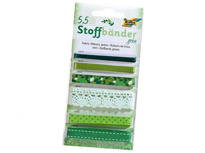 Folia 12205 - Dekorativní stužky - zelená